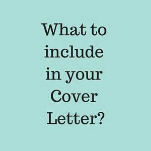 Email attaching cover letter